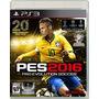 En Español Ps3 Pro Evolution Soccer Pes 16 Mejor Que Fifa