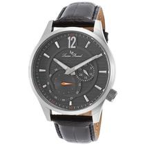 Relógio Lucien Piccard Burano Couro Leg/mostr Prateado Ss
