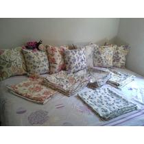 Almofadas Decorativas 45cm X 45 Cm, Jacquard Com Enchimento.