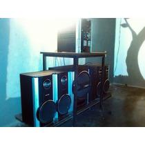 Equipo De Sonido Sharp 5 Cd 4 Cornetas Más Bajo Con Amplific