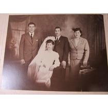 El Arcon Antigua Fotografia Blanco Negro Casamiento 1932 131