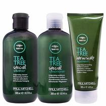 Shampoo, Condicionador E Máscara Paul Mitchell Tea Tree