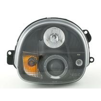 Farol Projector Angel Led Renault Twingo 93/03 Black + Xenon
