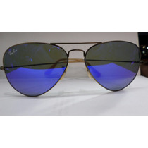Ray Ban Aviator Rb3025 167/68 58-141 Bronze Blue Original
