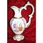 Antiguo Florero Ánfora Porcelana Alemana Gerold Bavaria