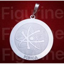 Pingente De Fiscia / Profissão Em Prata 925 !