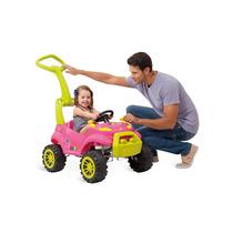 Carro Infantil Bebe A Pedal Smart Passeio Rosa Bandeirante