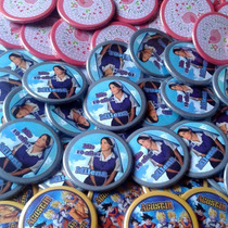 100 Pins Personalizado Publicitario 55 Mm Regalo Vive-ideas