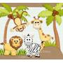 Kit Digital De Luxo Animais Da Floresta