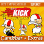Kit Imprimible Kick Buttowski - Promo 3x1 Medio Doble Riesgo