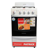 Cocina Patrick Cpf 8151 51cm Blanca Luz Encendido Multigas