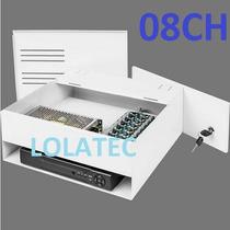 Rack Organizador Box Dvr 8 Canais 8 Cameras Hibrido Hd Cabo