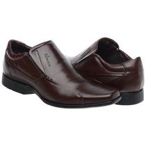 Sapato Nevano Antistress Couro Legitimo Leve Macio Flexivel