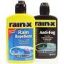 Anti Lluvia & Anti Empañante Parabrisas+2 Microfibras Rainox