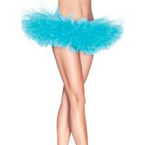 Tutu Azul Perfecto P/ Disfraz Halloween Cosplay Ballet Hada