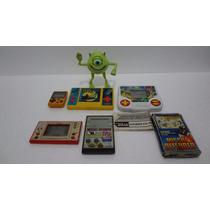 Lote De Mini Games 2 Casio / 2 Nintendo / 1 Tec Toy - Leia