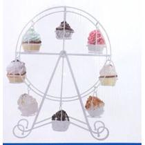 Carrusel Para 8 Cupcakes Reposteria Mesa Postres Mesa Niños