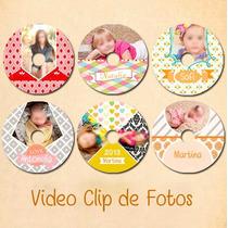 Video Clip De Fotos,cumple,15,boda,bautismo,cumpleaños,añito