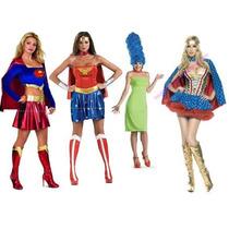 Disfraces Super Heroes ,2 En 1 , Personajes