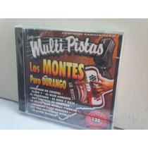 Los Montes. Puro Durango. Multipistas. Cd.