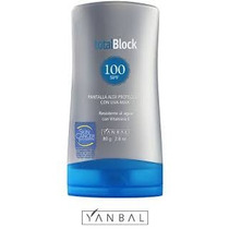 Productos Cosmeticos Yanbal Total Block 100 Original