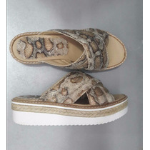 Sandalias Zapatos Mujer Con Plataforma De Goma Baja 40 38 37
