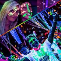 6 Colores Maquillaje Neon Pintura Uv Body Paint Fiesta Antro