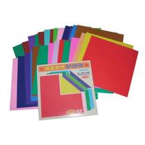 Papel Para Origami Bifaz-liso (36 Hojas) Importado De Japon
