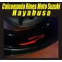 Calcomania Para Rines Moto Suzuki Hayabusa Logo 2013