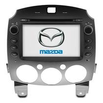 Estereo Mazda 2 Pantalla Touch Navegador Gps Sd Usb Dvd Bt