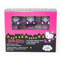 Hello Kitty Vampira Juego De 8 Luces Parpadeantes Decoracion
