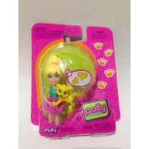 Polly Pocket Set De 3 Muñecas Con Mascota Crissy Lea Y Polly