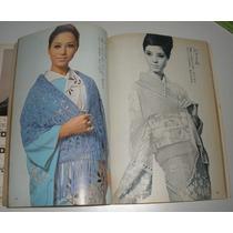 Revista Feminina Japonesa Moda Roupas Tricô Moldes Anos 60