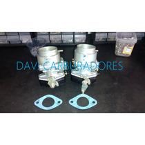 Carburador Recondicionado Mod H-40/44 Para Adapitar Em Fusca