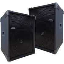 Par Caixas Acústicas Ativa + Passiva 400w 1x12 Jbl Usb/sd