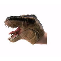 Boneco Dinossauro Fantoche - Marron - Dtc
