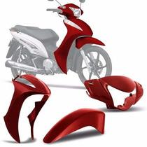 Kit Conjunto Carenagem Honda Biz 125 2011 A 2015