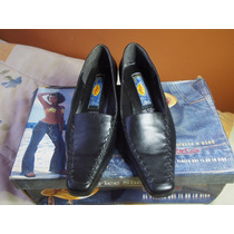 Zapatos De Dama Price Shoes Talla 23.5 Negros