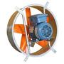 Extractor De Aire Industrial 45 Cm Helice 5 Aspas