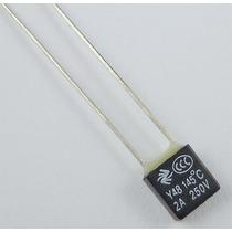 Fusível Térmico Para Ventilador - 135ºc, 2a. 250v