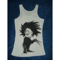 Blusa Camiseta Edward Joven Manos De Tijeras De Tim Burton