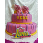Torta Decorada De Soy Luna Personalizada