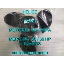 Helice Para Motores De Popa Mercury 50 / 60 Hp 4 Tempos