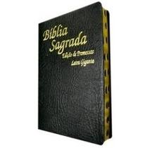 Bíblia Sagrada Edição Promessas Letra Gigante Preta Lacrada
