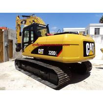 Excavadora Caterpillar 320dl, Año 2007, Recién Importada