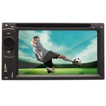 Dvd Player Automotivo 6,2 - 2 Din - Bluetooth - Tv Digital