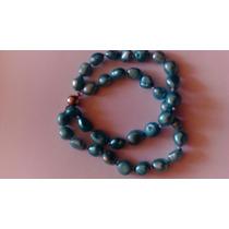 Pulsera De Perlas Cultivadas Nudo Por Perla