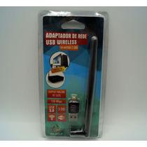 Adaptador Wireless Usb Wifi 150 Mb Antena 5 Db Ralink Rt5370