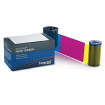 Ribbon Cinta Color Ymckt Para Impresoras Datacard 135 Impres
