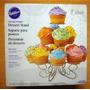 Porta Cupcake Soporte Para Ponquesitos Grandes Acero Wilton